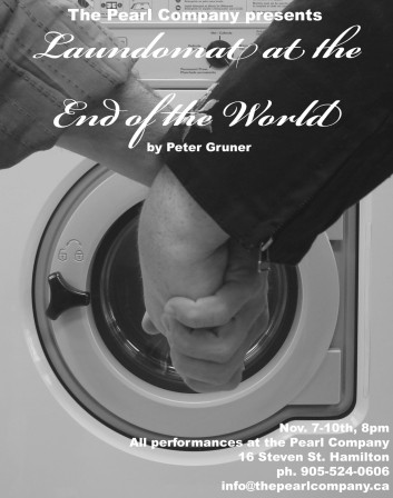 First production of my first play. Laundomat at the End of the World premiered at The Pearl Company's Freshwater Pearls.